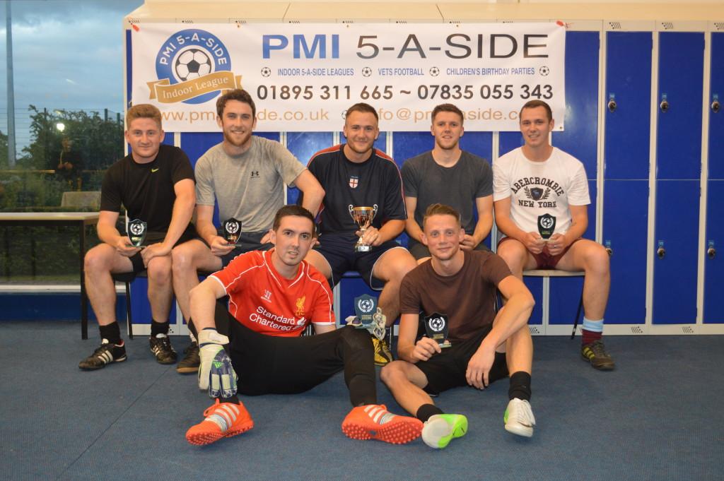 Musketeers 2015 Cup Winners